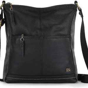 the SAK iris crossbody - black